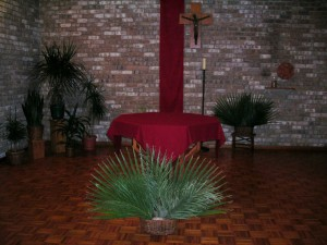 Altar Palm Sunday