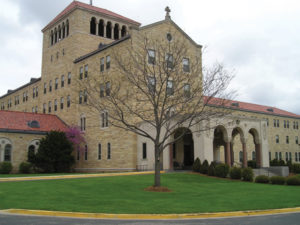 Entrance to Assisi Heights, Home of the Rochester Franciscans
